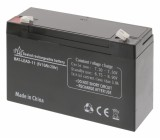 Lead acid battery 6 V 10 Ah