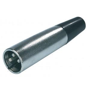 Konektor xlr zástrčka 3pin - kabel