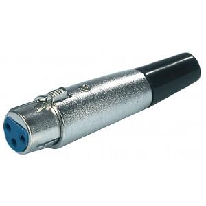 Konektor xlr zásuvka 3pin - kabel