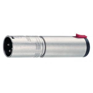 Zástrčka XLR/Kolíková zásuvka, ø 6.3 mm, stereo