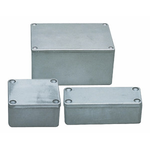 Hliníková krabička 115x65x55 mm