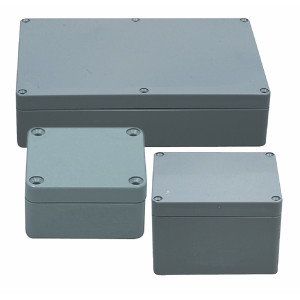 ABS enclosure 265x185x95 mm