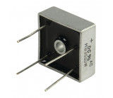Bridge rectifier square wire