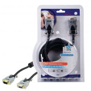 Kabel vga hddb15-m <lt/>-<gt/> hddb15-f - 5m - profi