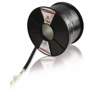 Kabel mikrofonní 2x0.35mm, 100m - profi könig