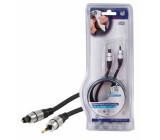 Kabel optický - toslink <lt/>-<gt/> opt. jack 1.5m - profi