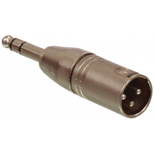 3p XLR male - 6.3mm male