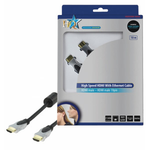 Kabel hdmi <lt/>-<gt/> hdmi high speed+ethernet - 10m