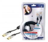 Kabel USB 2.0 - A - A - 5m - PROFI