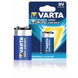 Battery alkaline LR22 9 V High Energy 1-blister