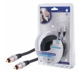 Kabel dig.audio cinch<lt/>-<gt/>cinch 10m-profi