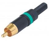 RCA kabelový konektor samec NEUTRIK