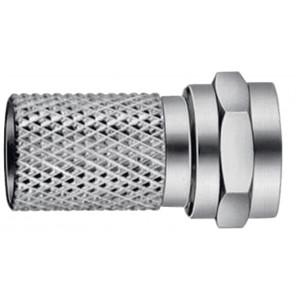 F konektor (7 mm), balení 10 ks