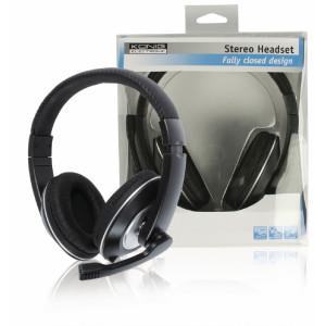 Uzavřený stereo headset