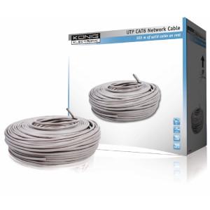 UTP CAT6 Nätverkskabel på rulle