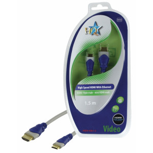 HQ - STANDARD HDMI HIGH SPEED HANE 19P - MINI HDMI 19P HANE KABEL