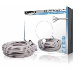 UTP CAT 6 síťový kabel na cívce (50 m)