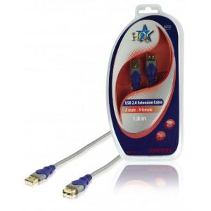 Standard USB 2.0 prodlužovací kabel 1.80 m