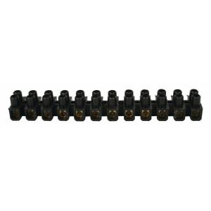 Svorkovnice 6 mm, černá, 10 ks