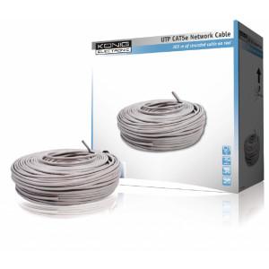 König UTP CAT5e síťový kabel na cívce 305m
