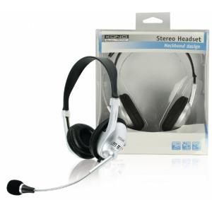 Odlehčený stereo headset