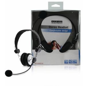 Komfortní stereo headset