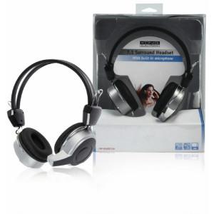 Usb 7.1 souprava sluch. + mikrofon k pc - könig