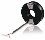 Kabel mikrofonní 2x0.08mm, 100m - profi könig