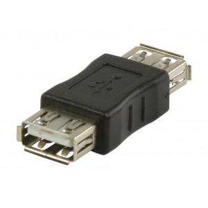 Adaptér USB 2.0, zásuvka USB A – zásuvka USB A