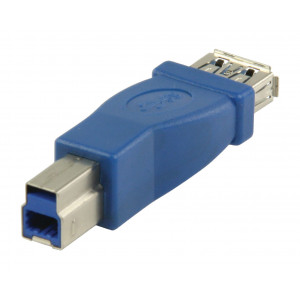 Adaptér USB 3.0, zásuvka USB A – zástrčka USB B