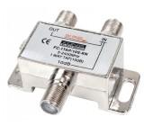 Odbočovač 1xf - 2x f, 5-2050 mhz, 10db