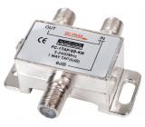 Odbočovač 1xf - 2x f, 5-2400 mhz, 6db