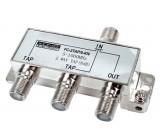 Odbočovač 1xf - 3x f, 5-1000 mhz,8db