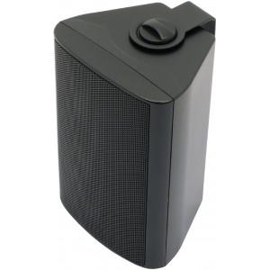 Reproduktor v krytu 100 V 8 Ohm, černý