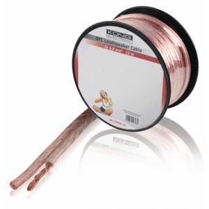 Kabel repro 2 x 4.0 mm² 15.0 m transparentní
