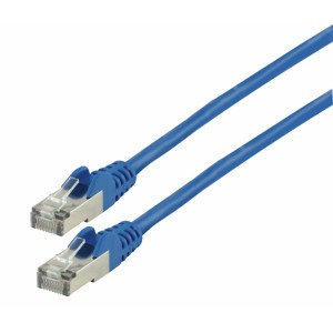 Patch kabel CAT 6, 2 m, modrý