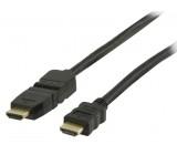 High Speed HDMI™ kabel s ethernetem HDMI™ konektor - HDMI™ konektor otočný 1.0 m černý
