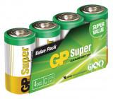 Battery alkaline C/LR14 1.5 V Super 4-foil