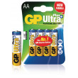 Alkalická baterie AA/LR6 1.5 V Ultra Plus 4-blistr
