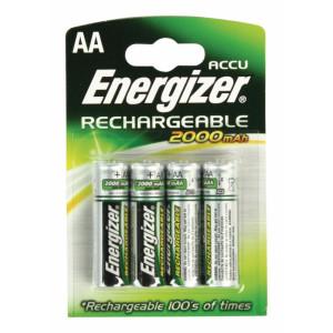Baterie NiMH AA/LR6 1.2 V 2000 mAh 4-blistr