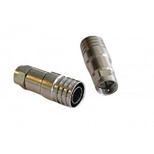 Krimpovací F konektor, 10 mm