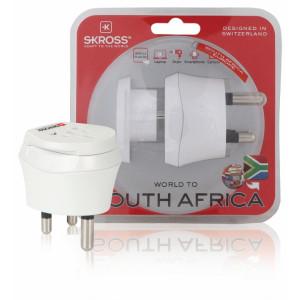 Kombinovaný adaptér svět – Jižní Afrika