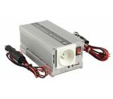 Měnič napětí 12 - 230 V 300 W s USB