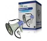 Megafon 25w + odnímatelný mikrofon - hq