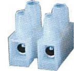 Svorkovnice 2x6mm2 bílá-PE