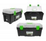 """Kufr na nářadí 22"""" plastový GREEN BOX"""