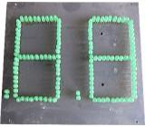zobrazovač .8.8. z LED diod, celkem 130ks, zelený