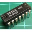 7437 4x 2vstup NAND výkonový, DIL14, /MH7437, MH7437S/