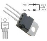 MBR20100 dioda schottky dvojitá 100V/20A/ TO220AB