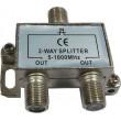 Rozbočovač IN/2xOUT 5-1000 MHz s F konektory